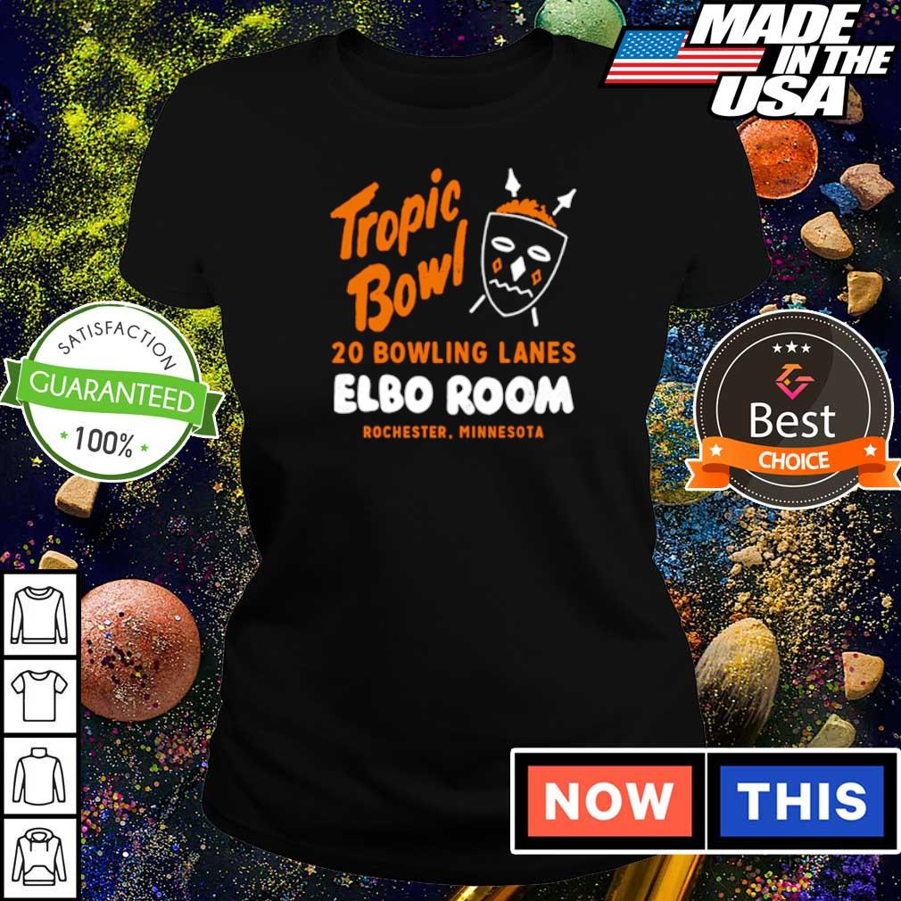 Tropic Bowl 20 bowling lans Elbo Room Rochester Minnesota s ladies tee