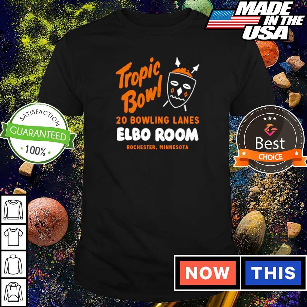 Tropic Bowl 20 bowling lans Elbo Room Rochester Minnesota shirt