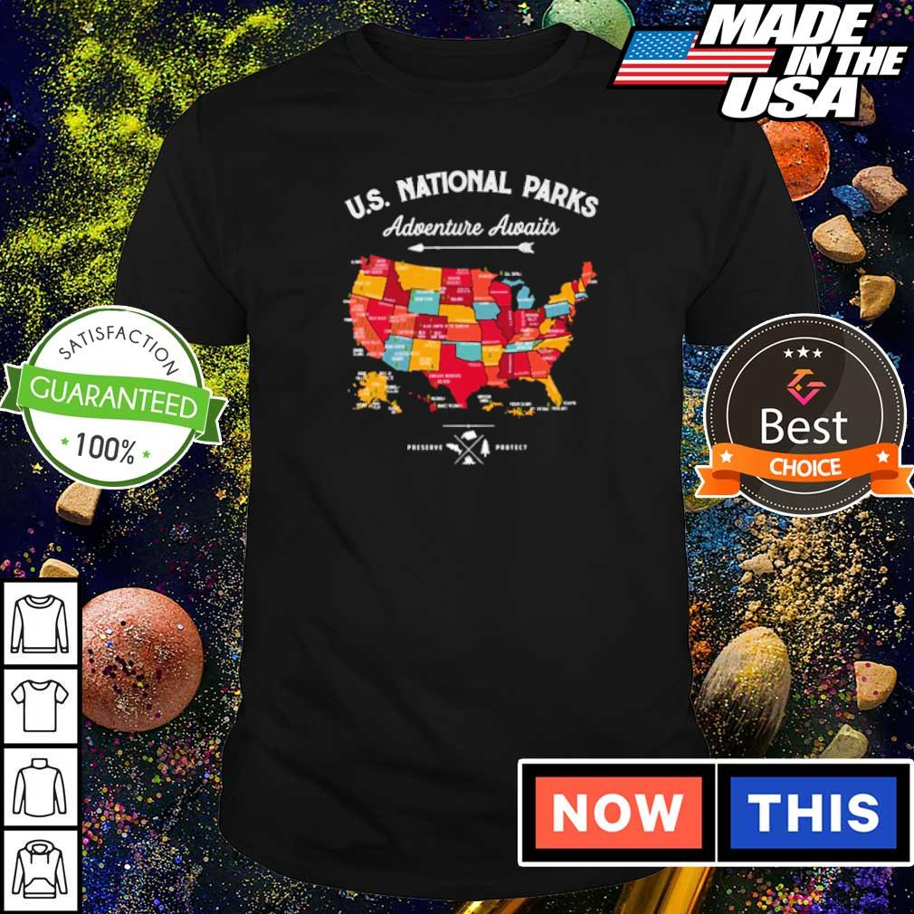 US Natonal Parks Adventure Awaits shirt