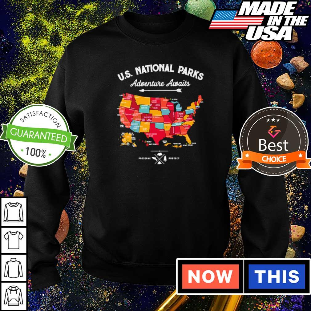 US Natonal Parks Adventure Awaits s sweater