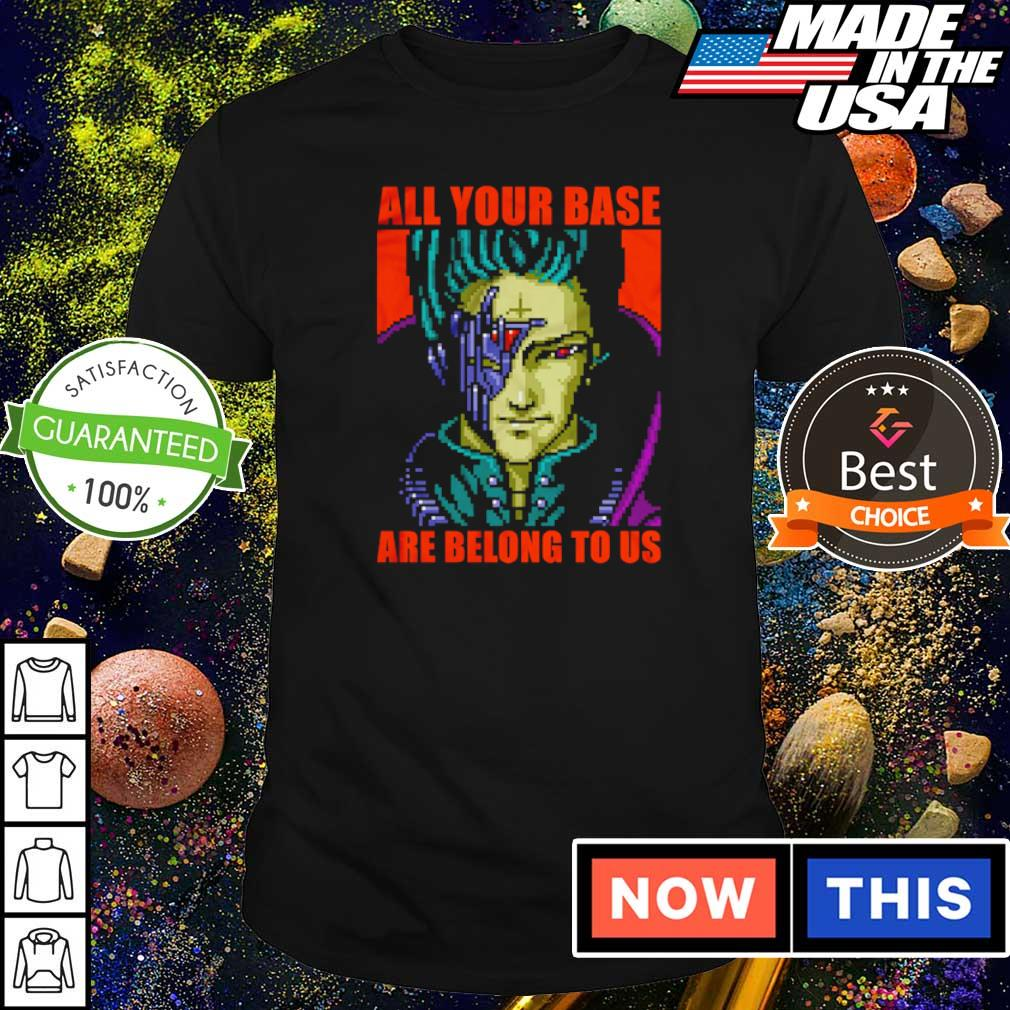 Zero Wing all your base are belong to us shirt
