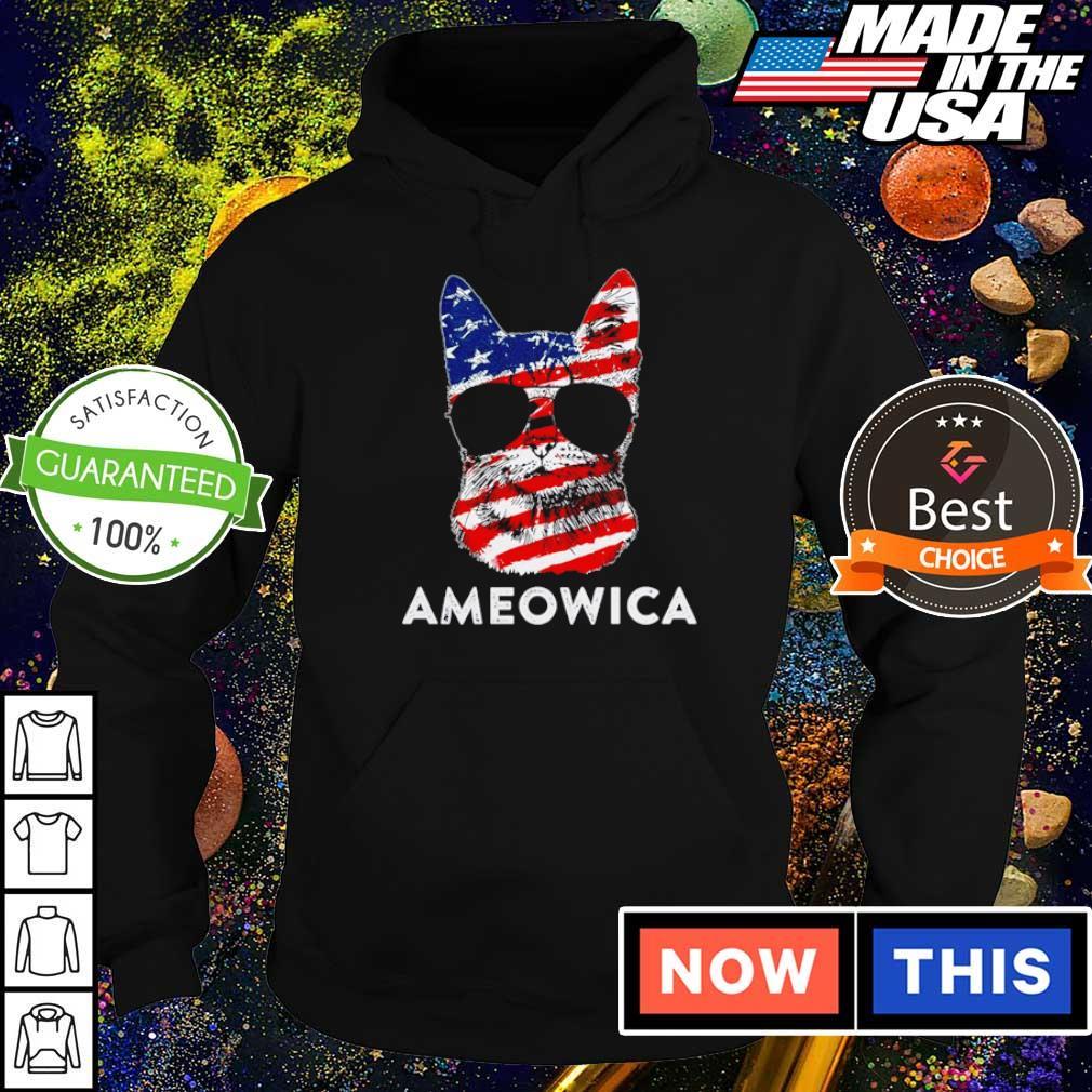 American Flag Ameowica Flag s hoodie