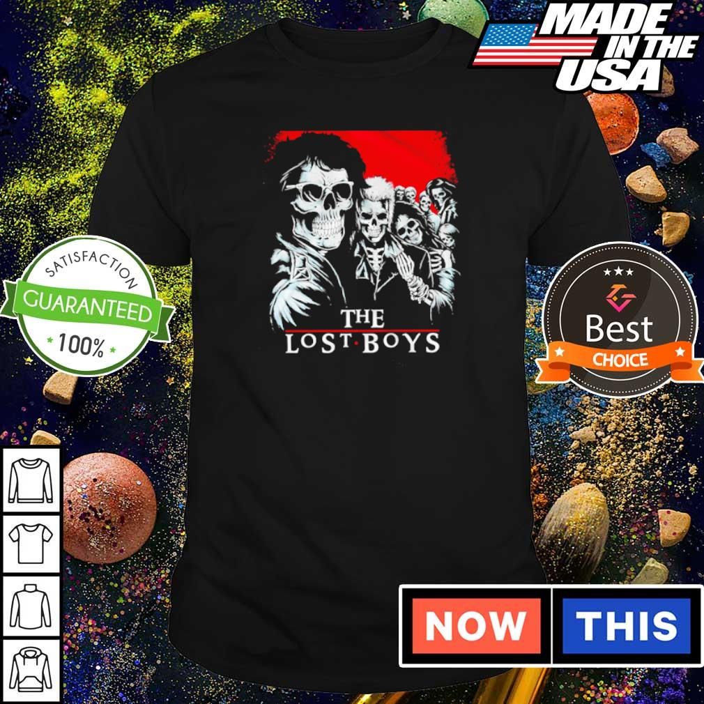 Awesome The Lost Boys Band shirt