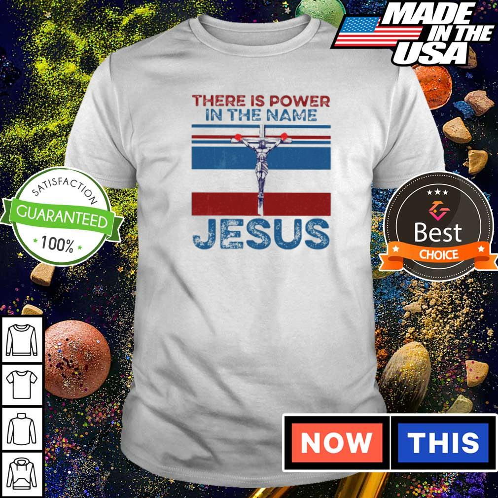 Boxing there is power in the name Jesus shirt