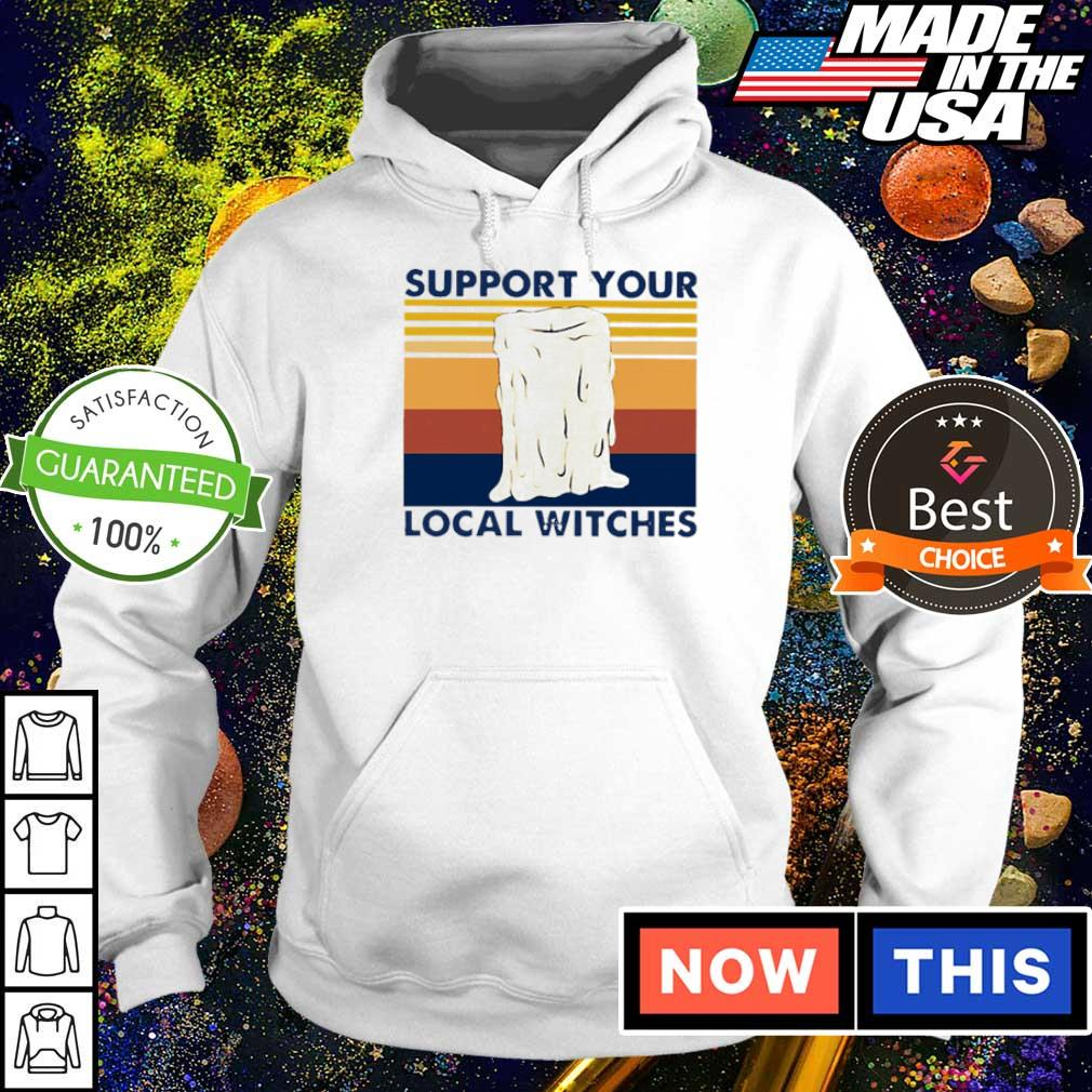 Candle support your local witches vintage s hoodie