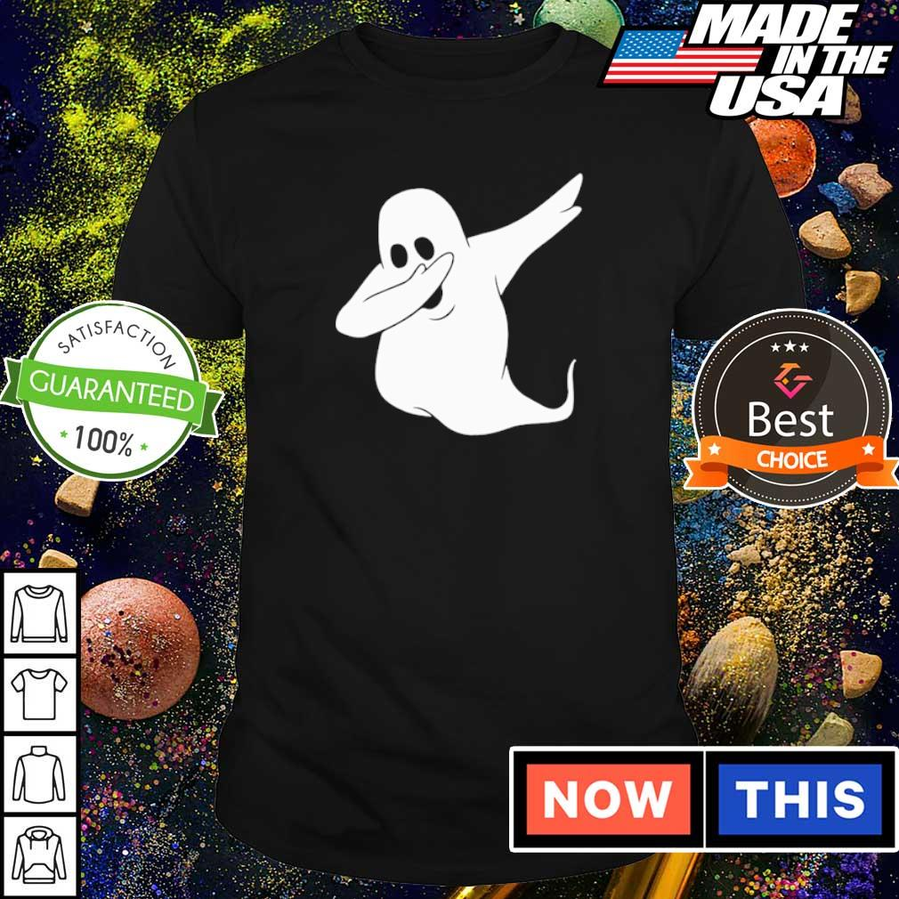 Dabbing ghost happy Halloween shirt