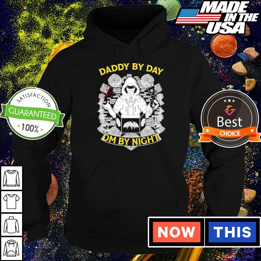 Dungeons and Dragons Daddy by day DM by night s hoodie