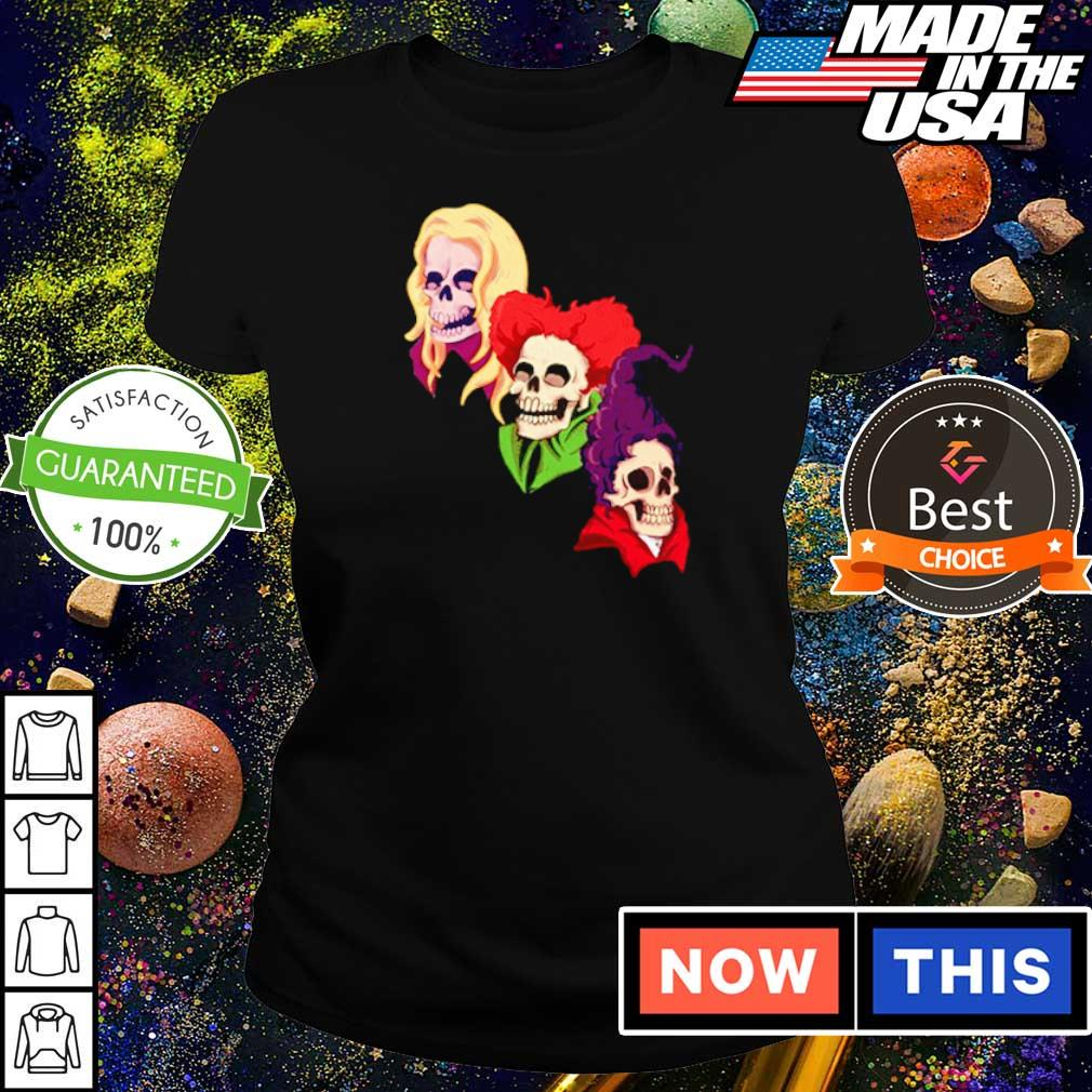 Happy Halloween Skull Hocus Pocus s ladies tee