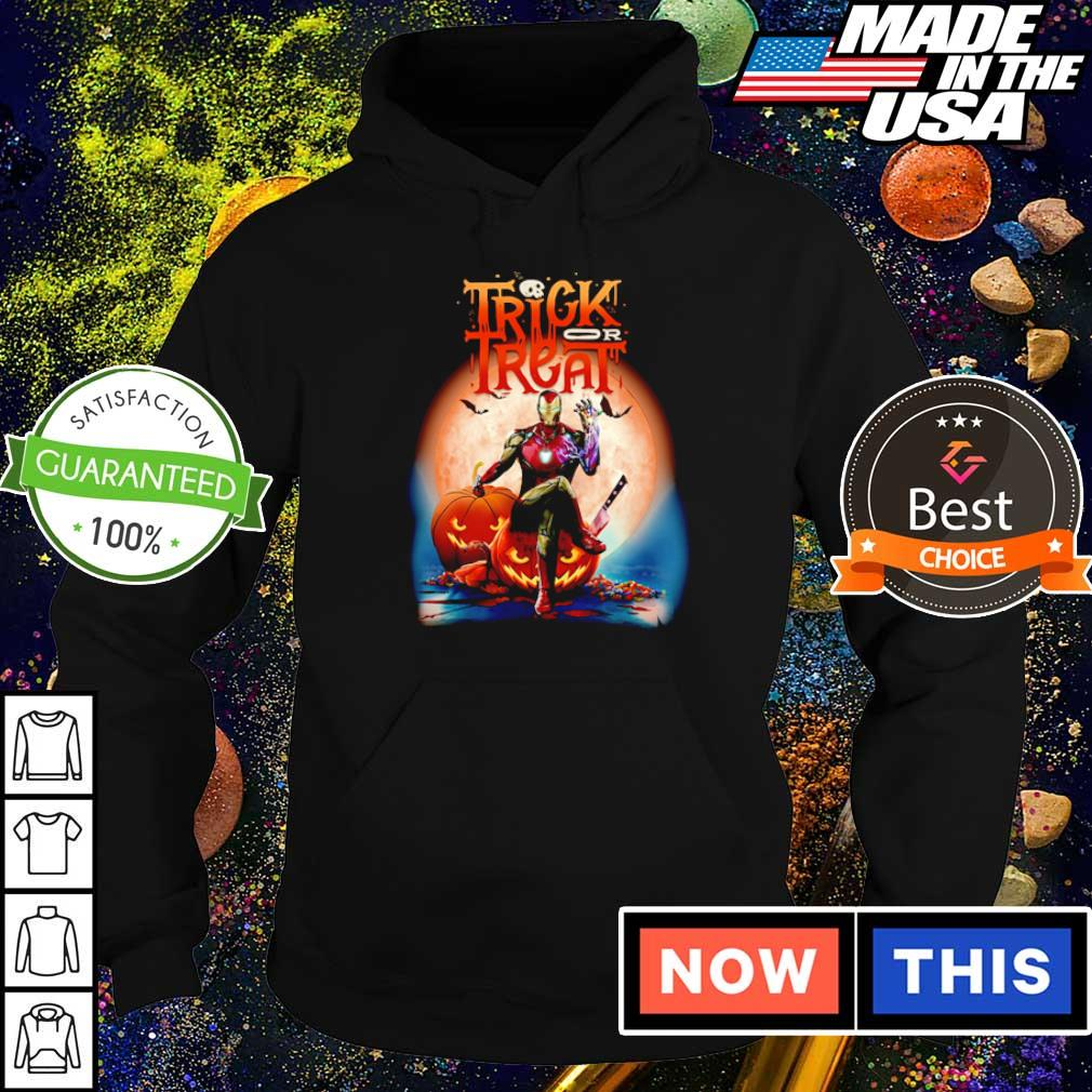 Marvel Iron Man trick or treat happy Halloween s hoodie