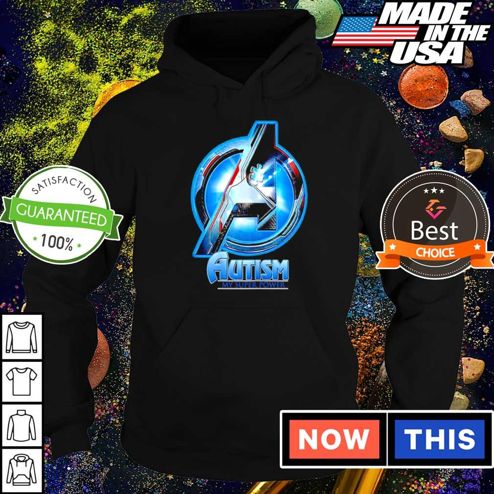 Marvel Studio The Avengers autism awareness my super power s hoodie