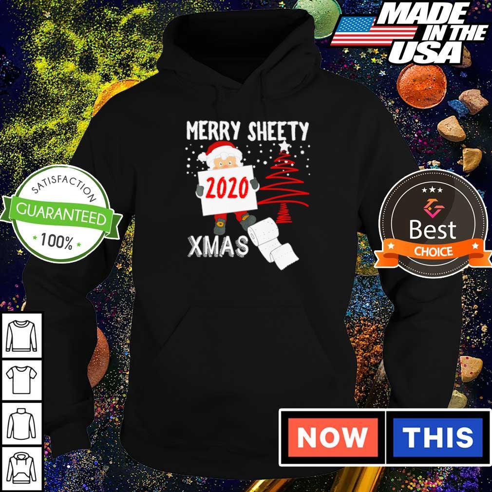 Santa merry sheety Xmas social distancing Christmas s hoodie
