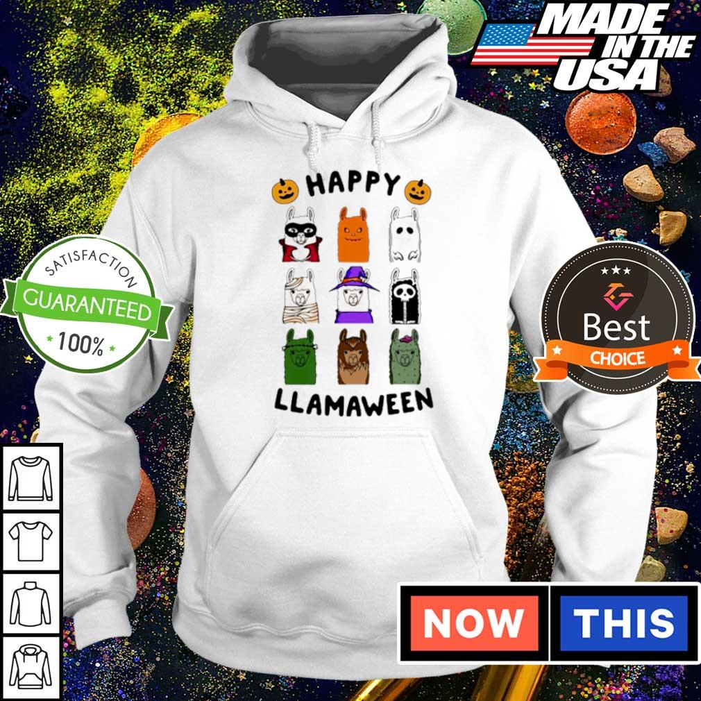 Scary Happy Llamaween Halloween s hoodie