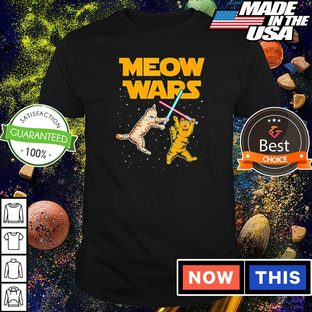 Star Wars Cat Fighting Meow Wars shirt