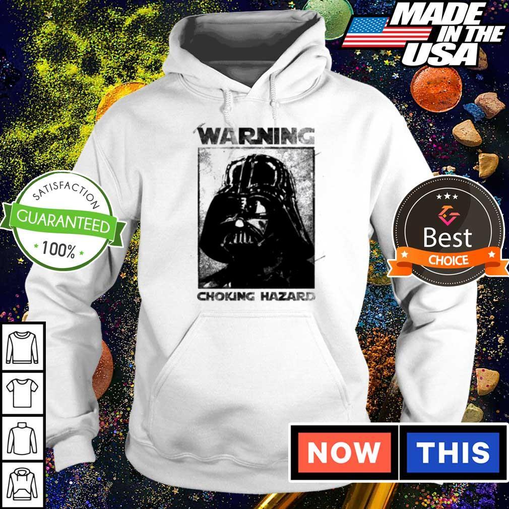 Star Wars Darth Vader warning choking hazaed s hoodie