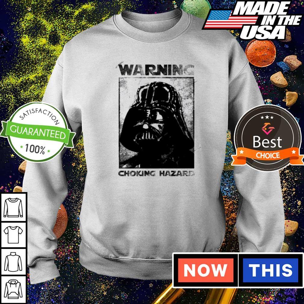 Star Wars Darth Vader warning choking hazaed s sweater