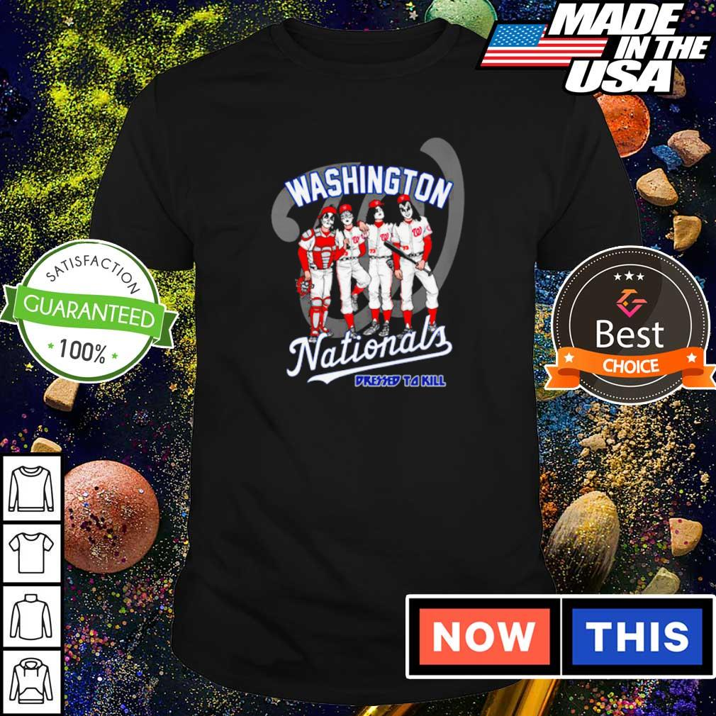 Washington Nationals Kiss dressed to kill shirt