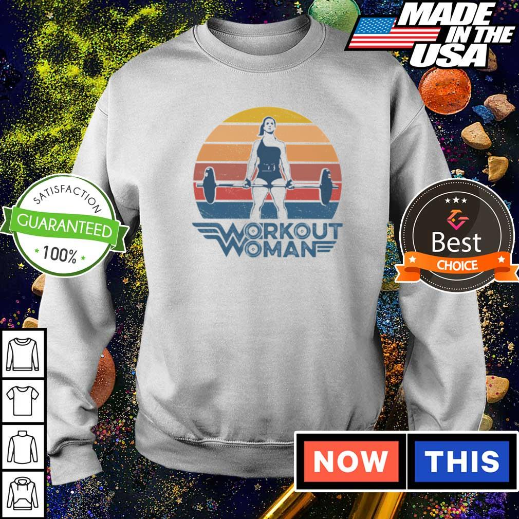Wonder Woman workout woman vintage s sweater