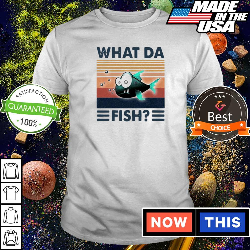 WTF what da fish vintage shirt