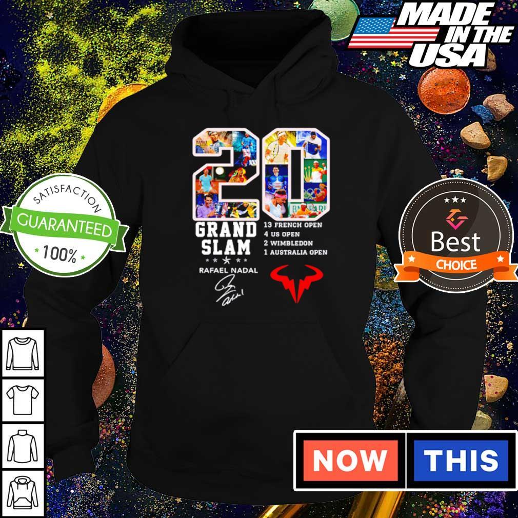 20 years of Grand Slam Rafael Nadel signature s hoodie