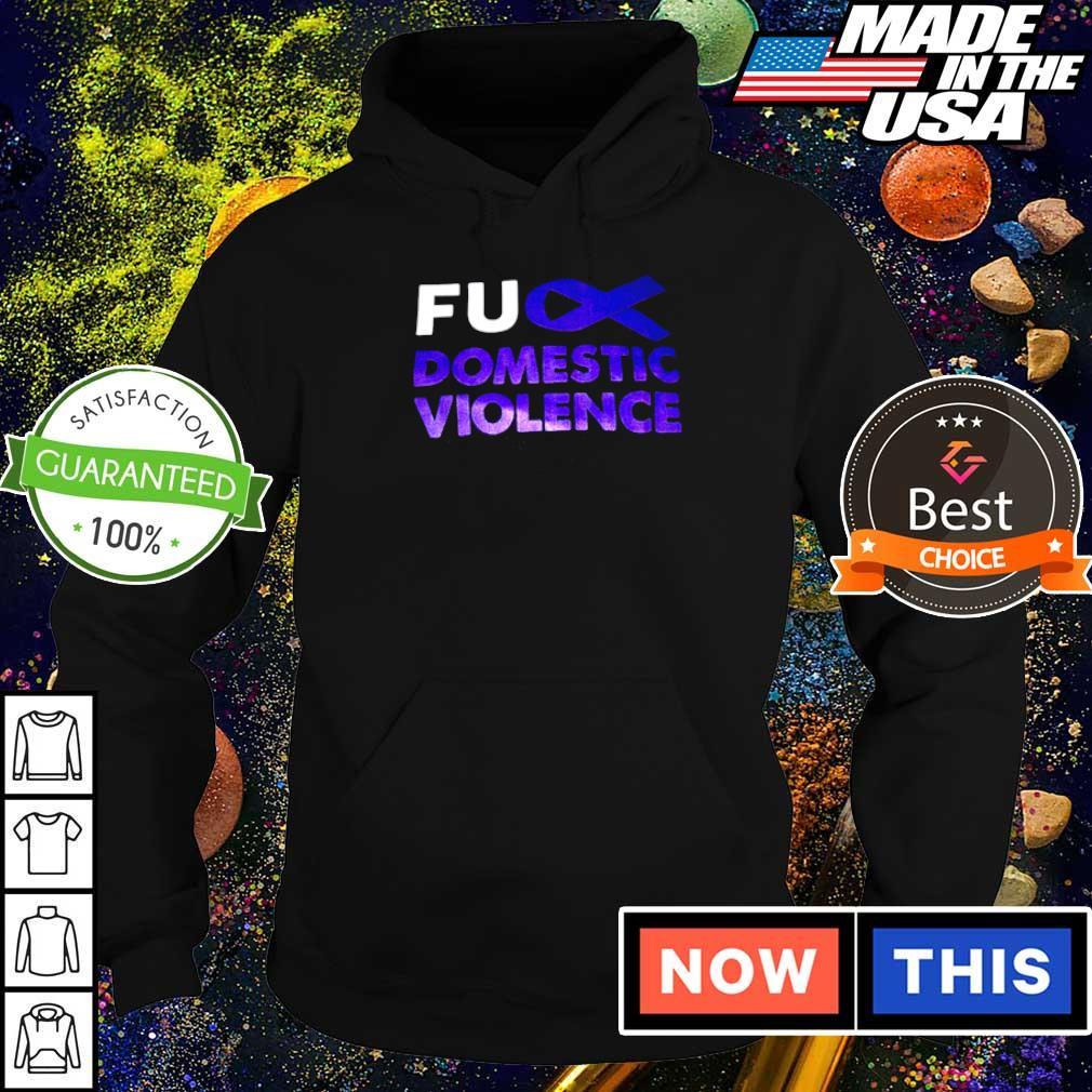 Autism awareness fuck domistic violence s hoodie