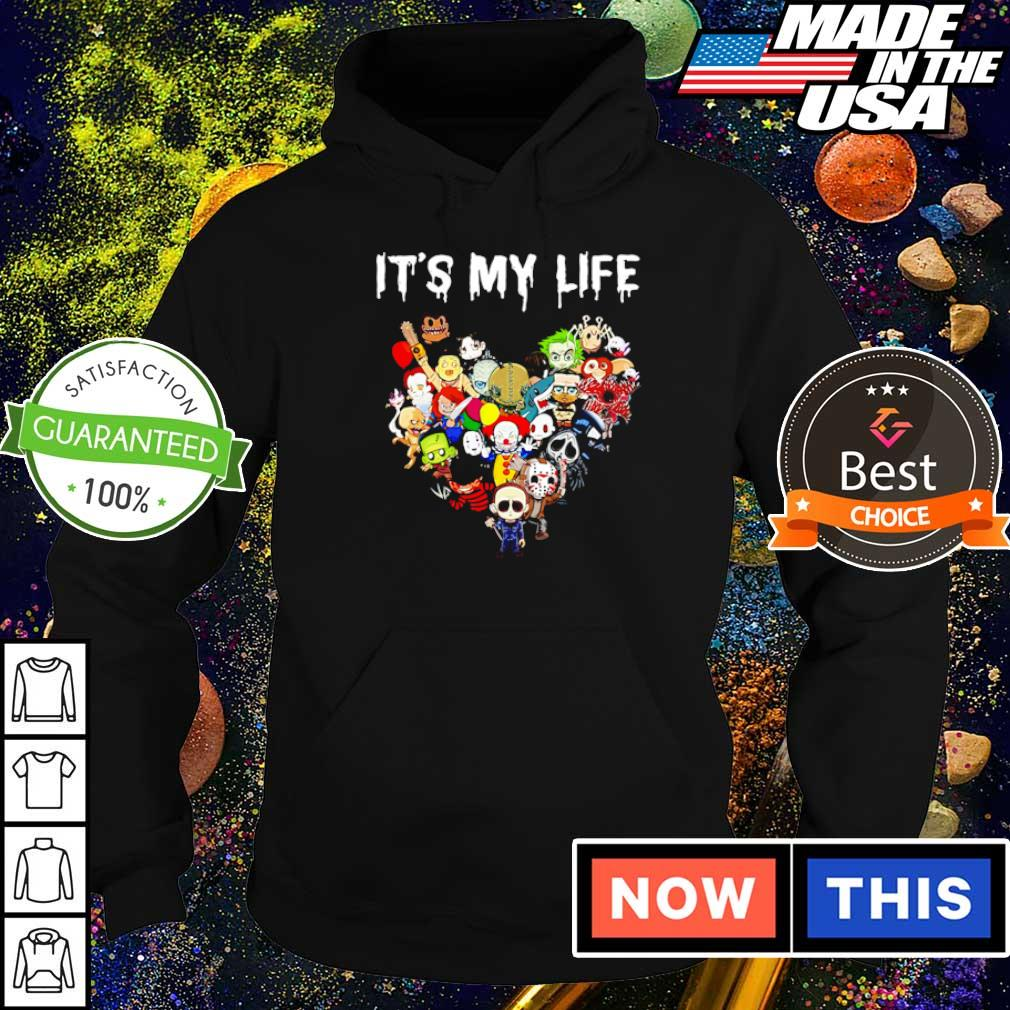 Chibi horror characters it's my life s hoodie
