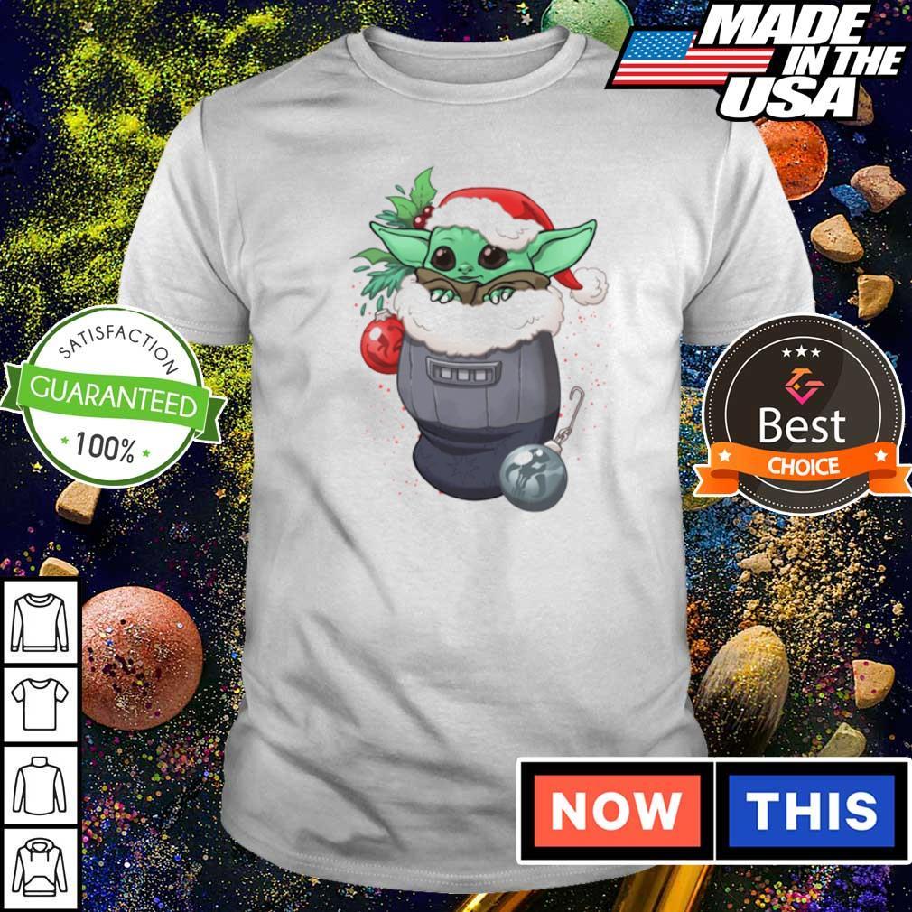Christmas stocking stuffer Baby Yoda shirt
