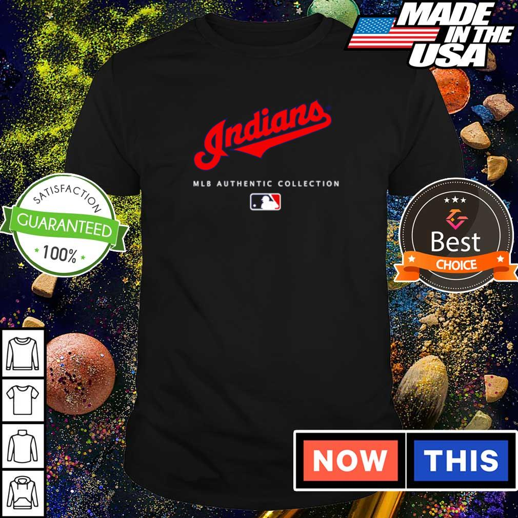 Cleveland Indians MLB authentic collection shirt