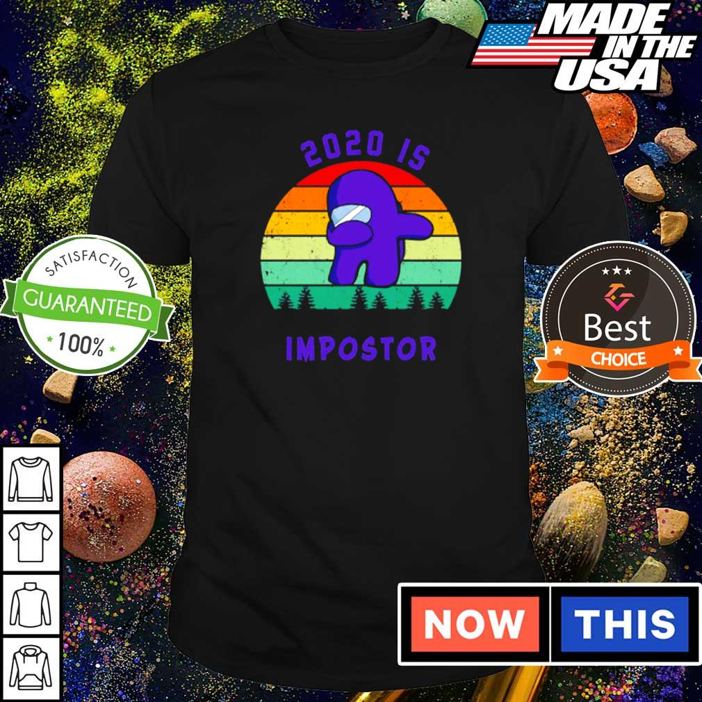 Dabbing 2020 is impostor among us game shirt
