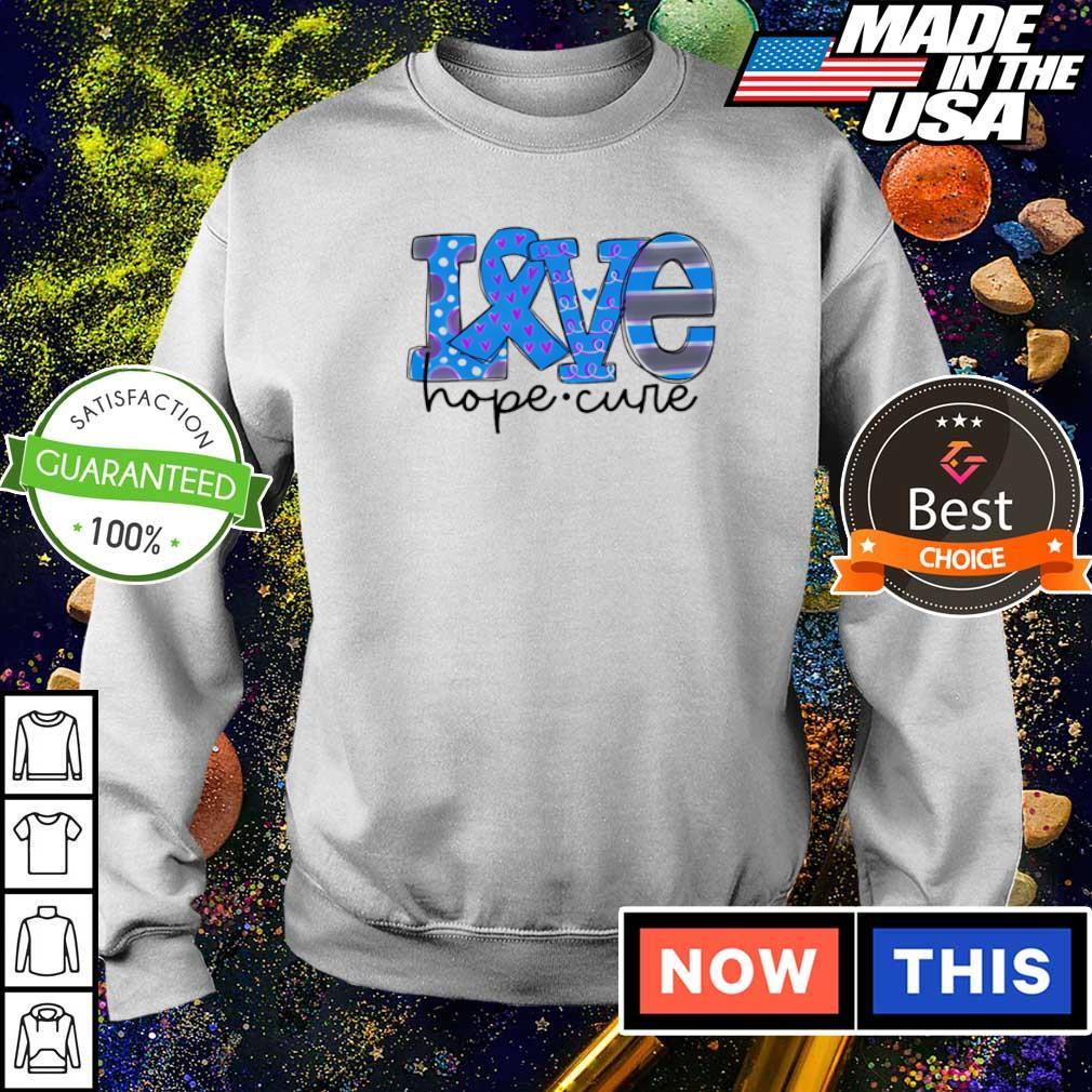 Diabetes love hope cure s sweater
