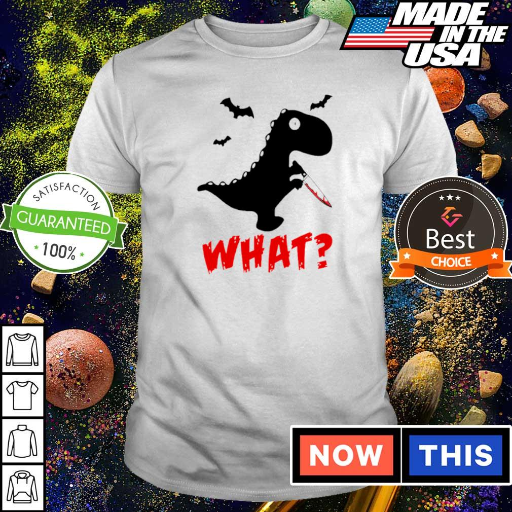 Dinosaur murderer T Rex what shirt