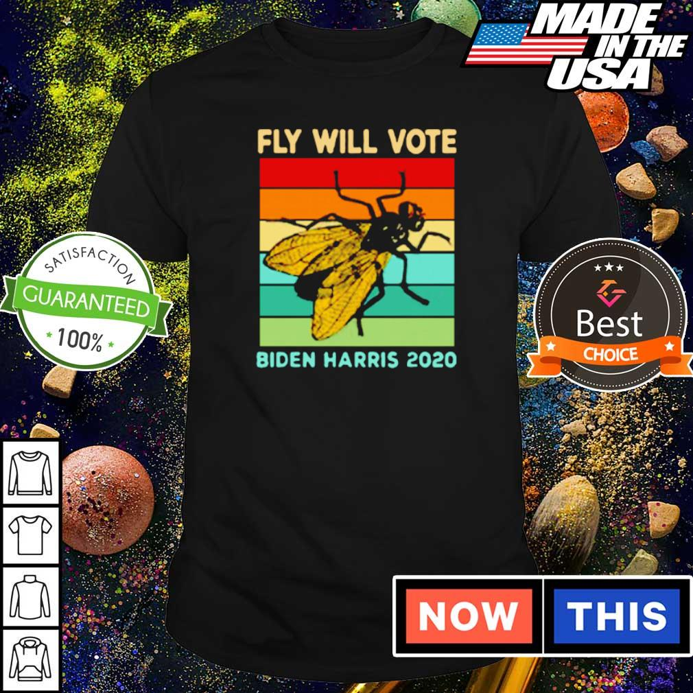Fly will vote Biden Harris 2020 vintage shirt