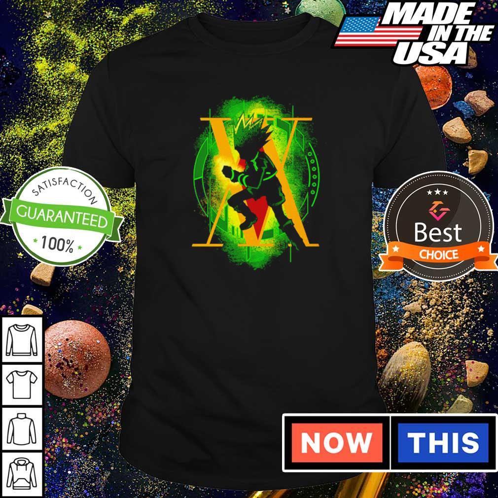 Gon freecss rockie hunter shirt