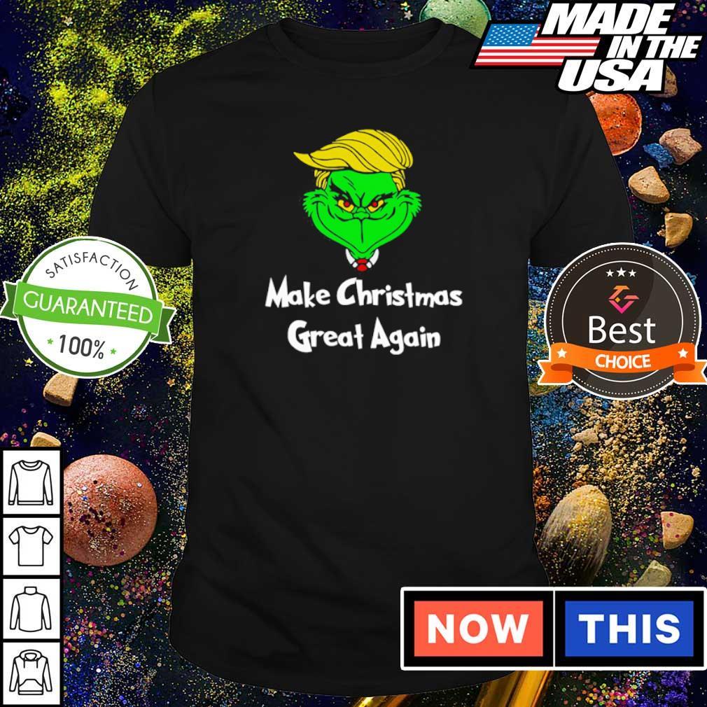 Grinch Trump make Christmas great again shirt