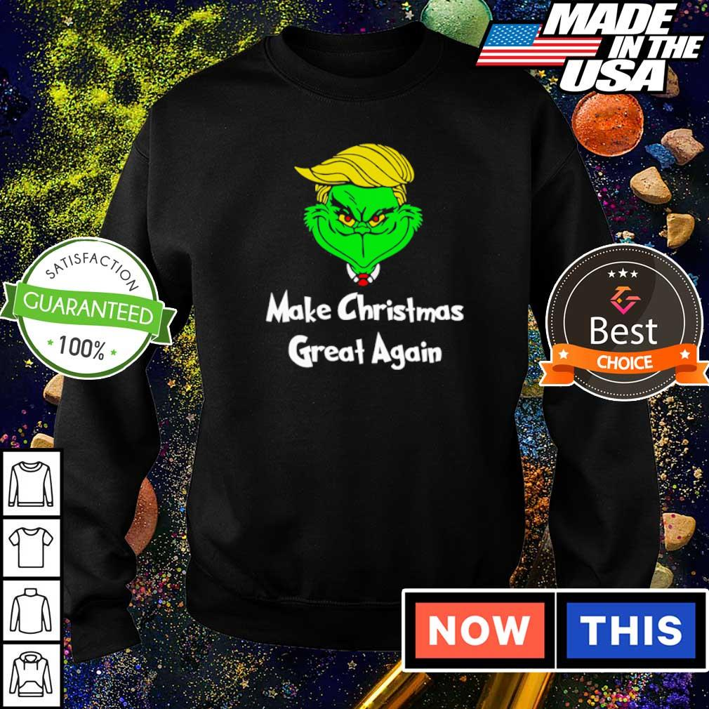 Grinch Trump make Christmas great again s sweater