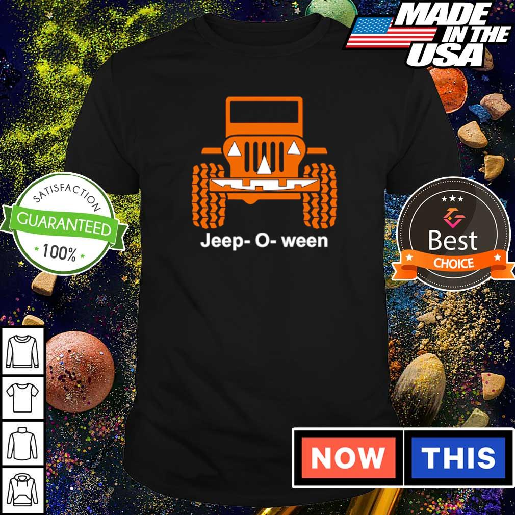Jeep o ween pumpkin happy Halloween shirt