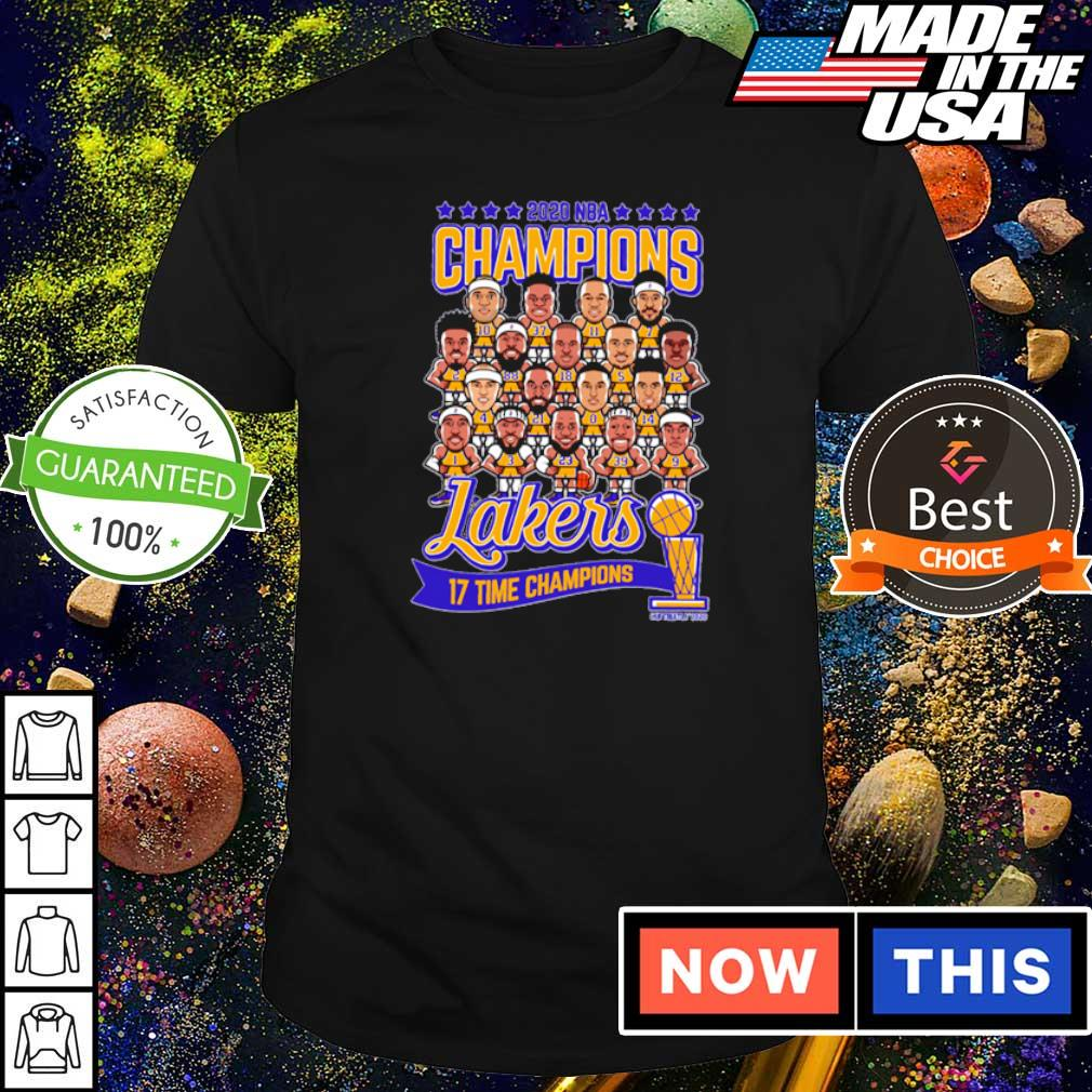 Los Angeles Lakers 2020 NBA 17 time champions champions