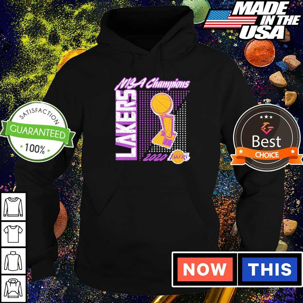 Los Angeles Lakers 2020 NBA champions s hoodie
