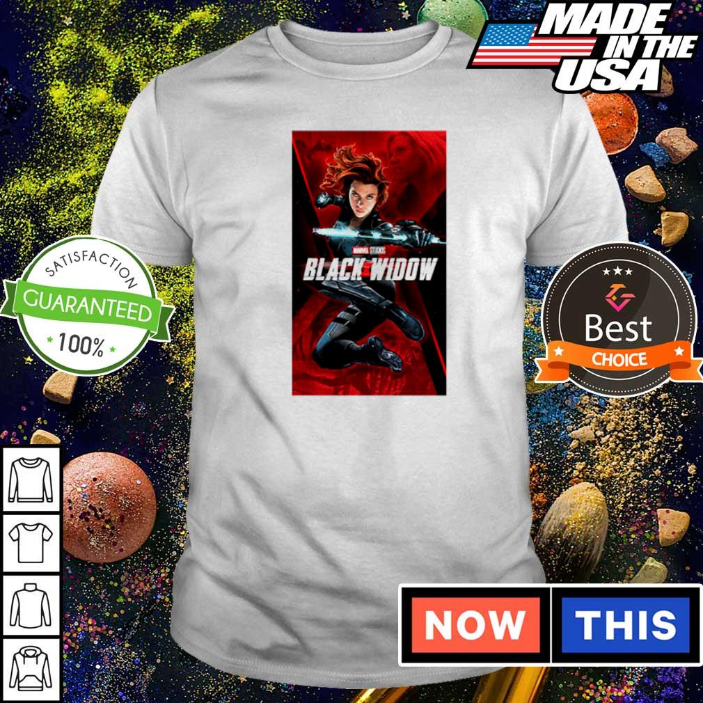 Marvel Studios Black Widow movie shirt