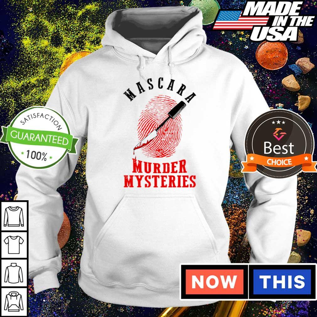 Mascara murder mysteries s hoodie
