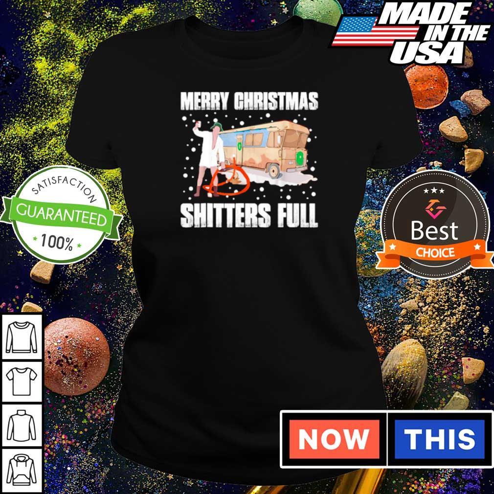 Merry Christmas shitters full s ladies tee
