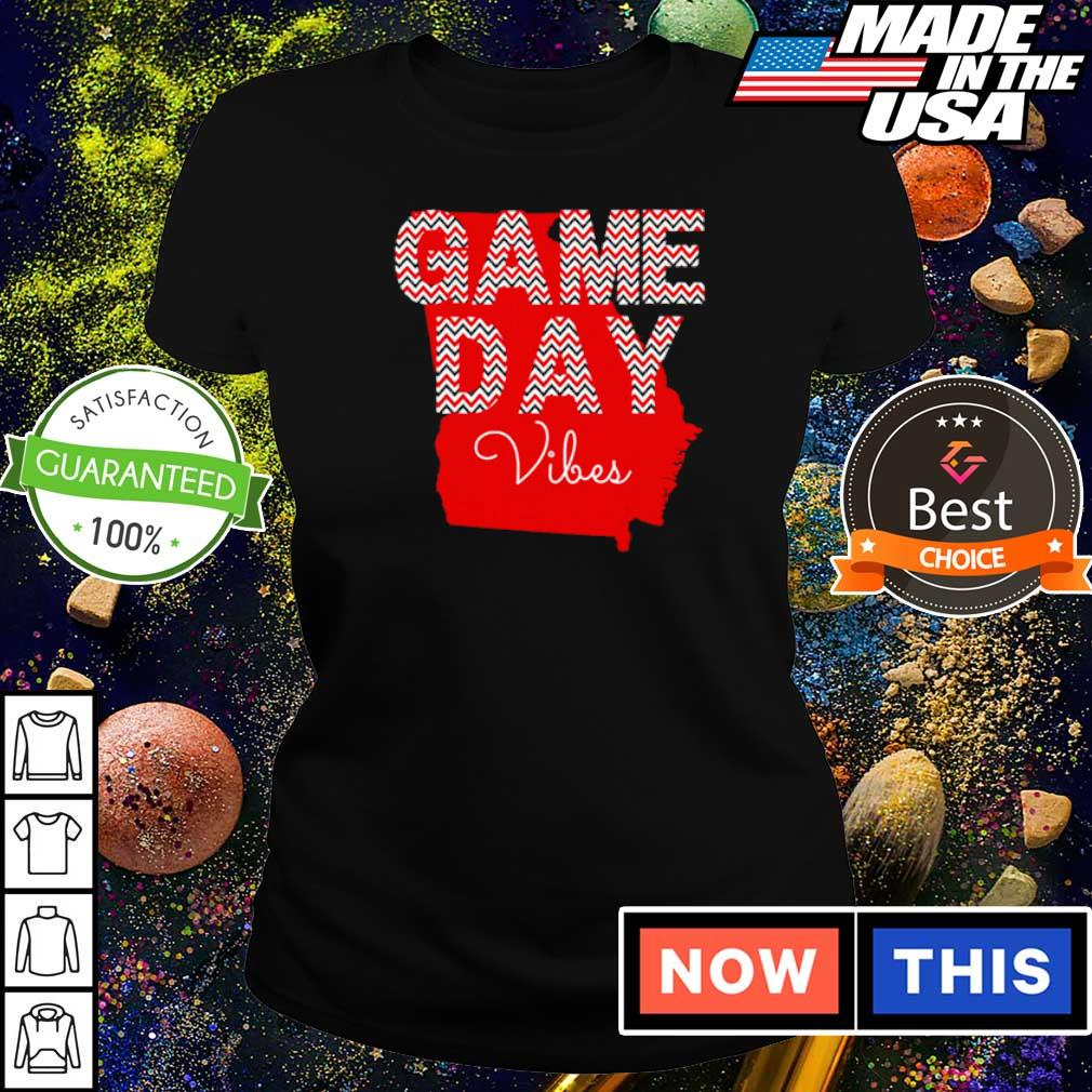 Official awesome game day vibes s ladies tee