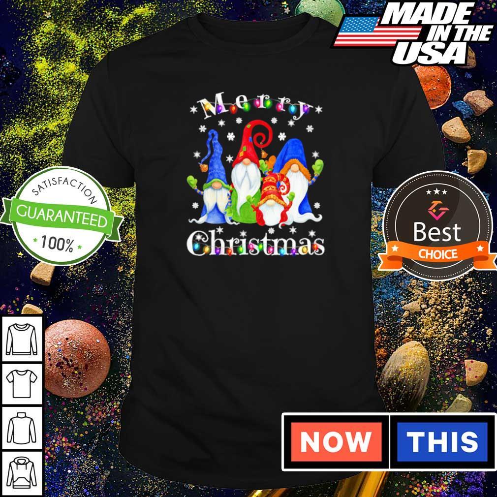 Official Gnome merry Christmas shirt