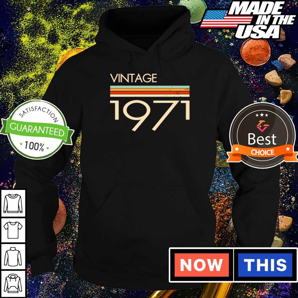 Official vintage 1971 s hoodie