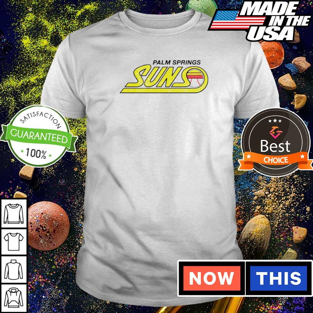 Palm springs suns baseball shirt