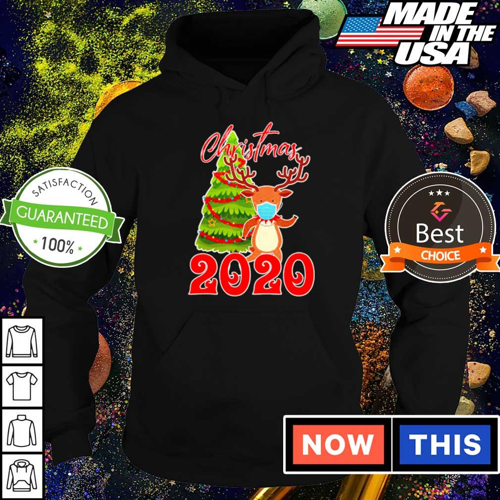 Reindeer wearing mask 2020 merry Christmas s hoodie