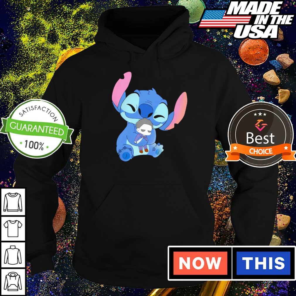 Stitch hug baby Michael Myers s hoodie