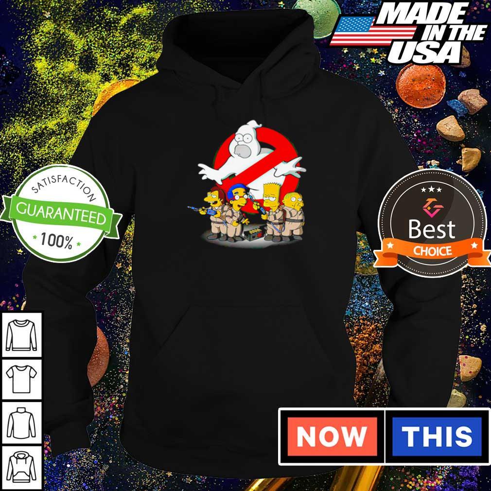 The Simpsons in Ghost Buster movie s hoodie