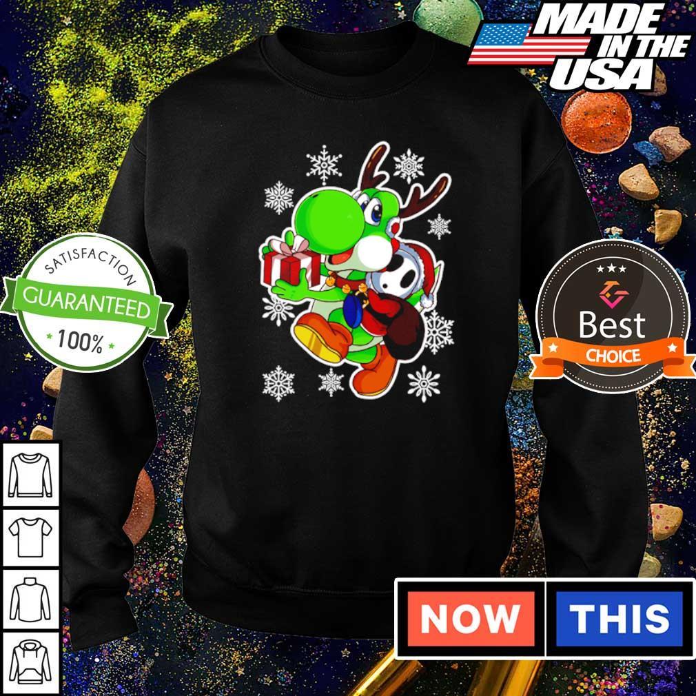 Yoshi in Mario Bros happy Halloween s sweater
