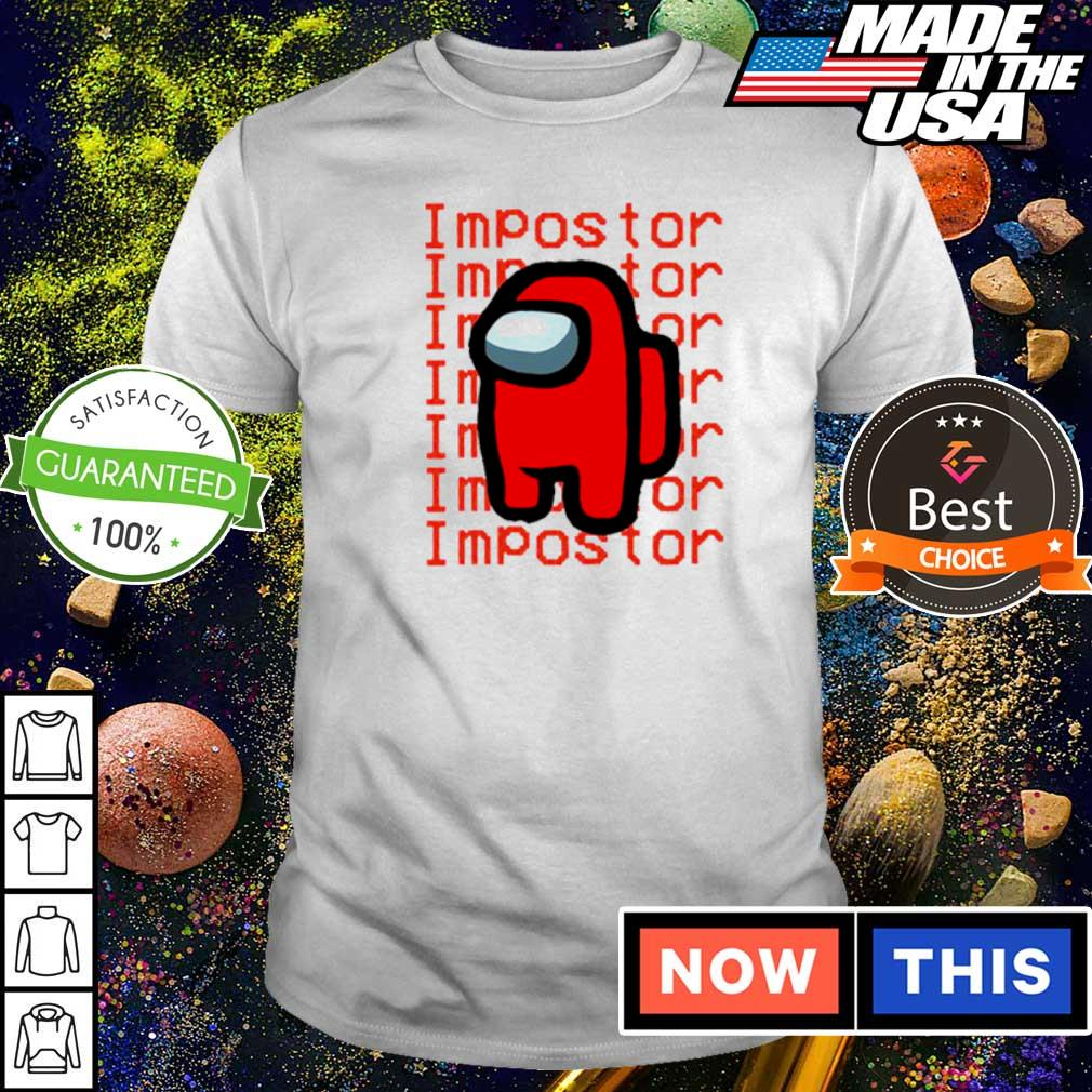 Among us I am the imposter shirt