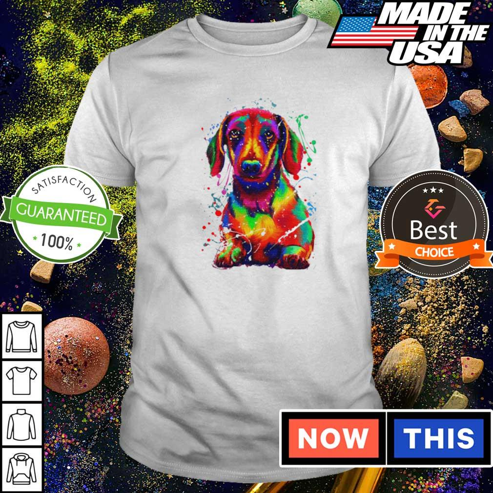 Awesome dachshund full color shirt